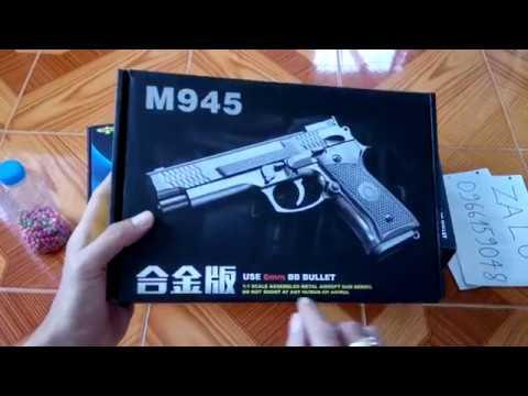 [Review] Modèle de pistolet métallique (M1911 – M92F – M945)