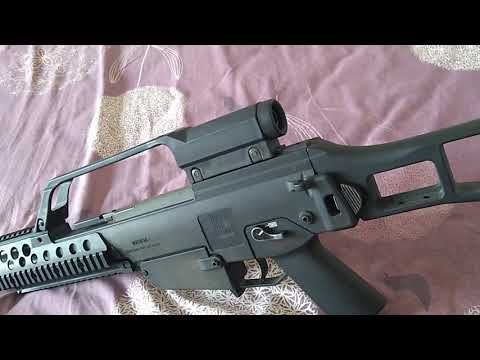 Umarex HK G36KV AEG Airsoft Toy Review Unit