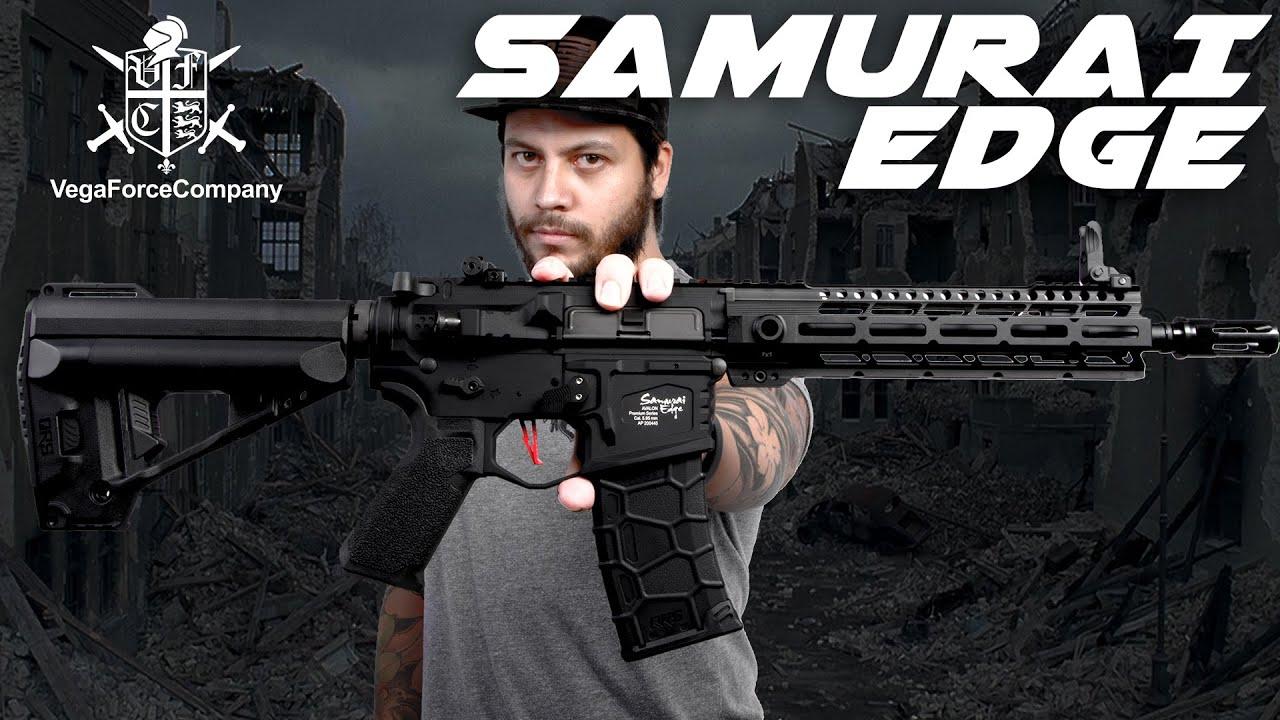 VFC Samurai Edge – L'AEG le plus avancé directement à votre porte – RedWolf Airsoft RWTV