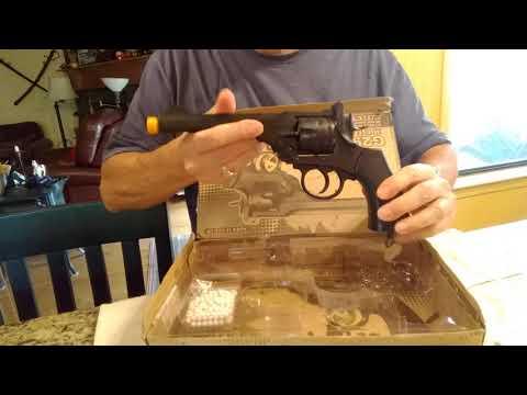 Revolver Webley MK VI Co2 Air Soft, G293 Wells. la revue
