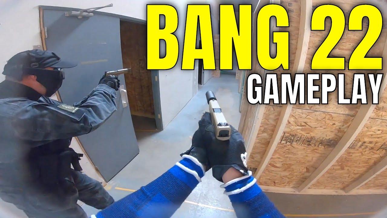 Bang 22 Grenade & LED Targets – Tactical Airsport Zone Airsoft CQB Gameplay