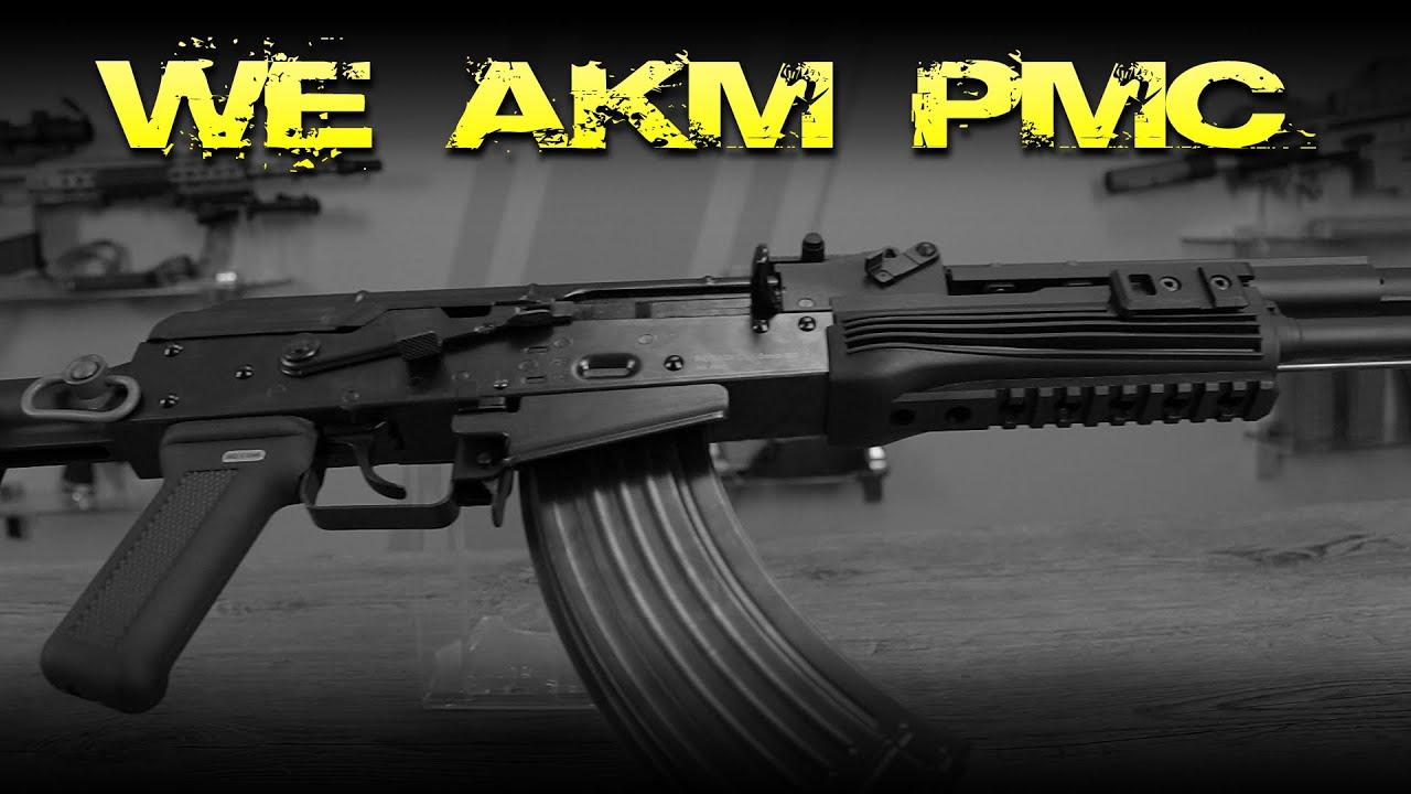 [Review] WE AKM PMC GBB – 6mm Airsoft Deutsch / Allemand