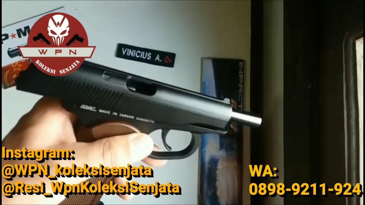 Évaluer Airsoft Makarov Blowback Cal 6mm ARTICLE RARE !!! (USINE KWC)