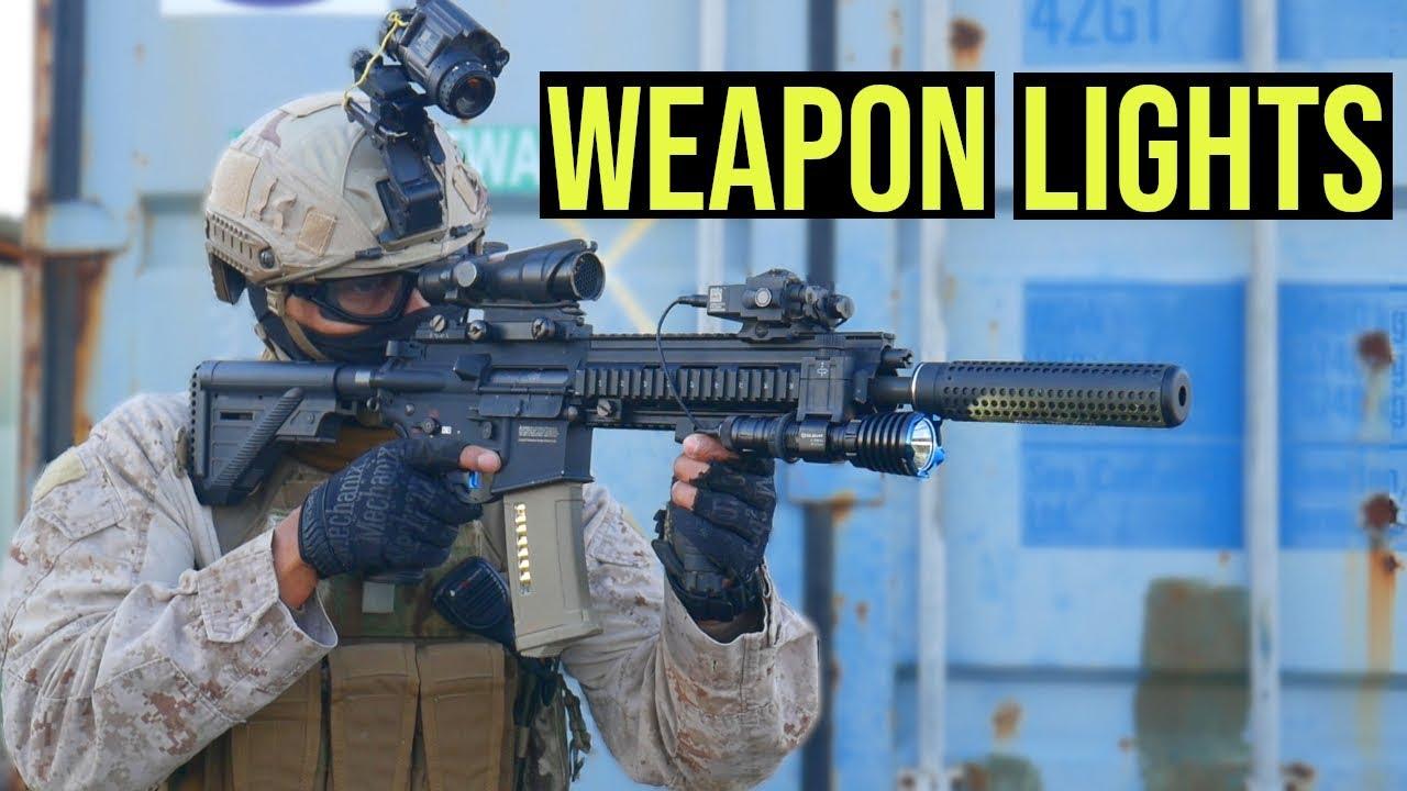 Comment trouver la meilleure position pour votre arme lumineuse »wiki utile OLight Warrior X, PL-2 Mini et Valkyrie