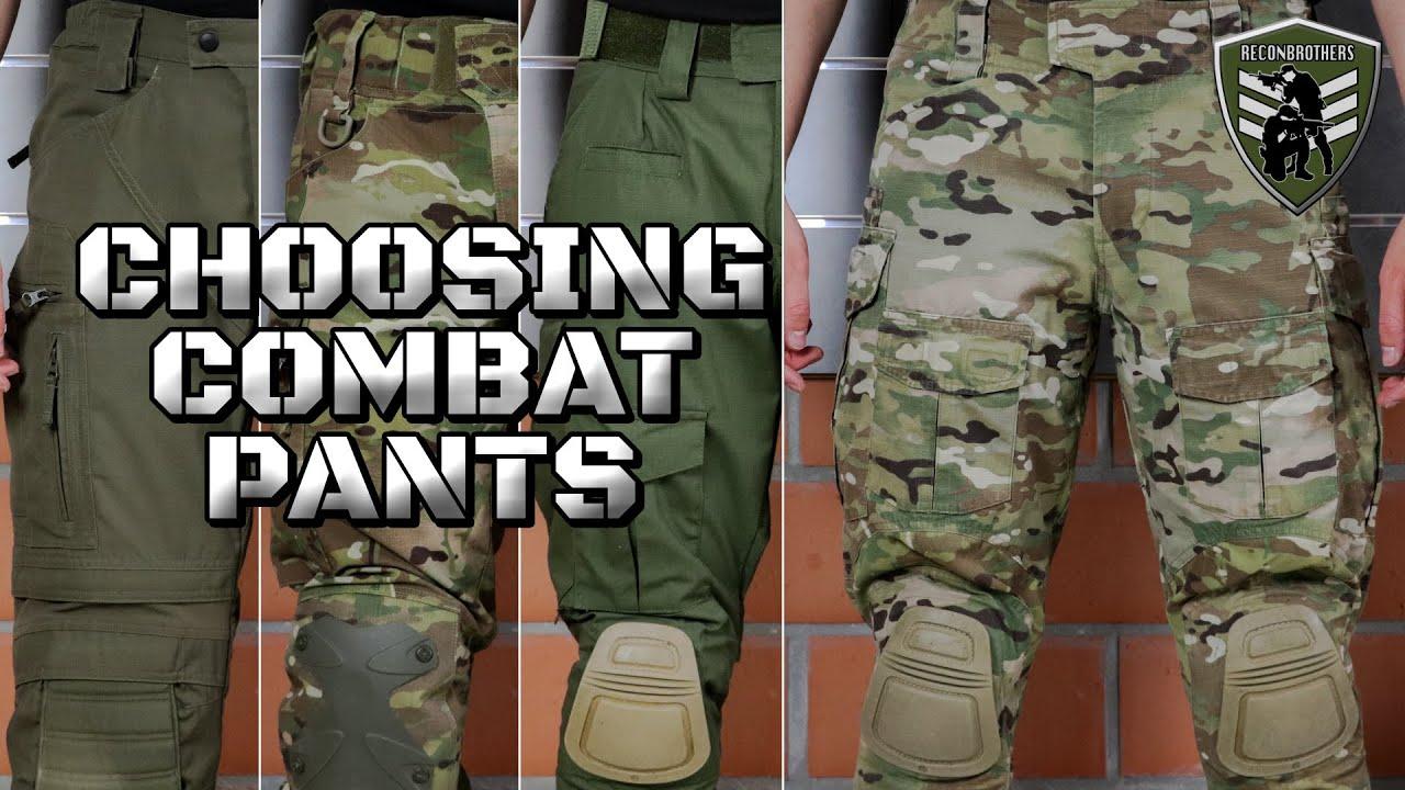 Choisir LE MEILLEUR pantalon de combat pour l'armée et l'airsoft
