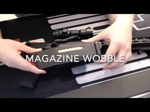 Novritsch SSR15 AEG Review Partie 2 – Unboxing – Magazine Wobble – Muzzle Breaks