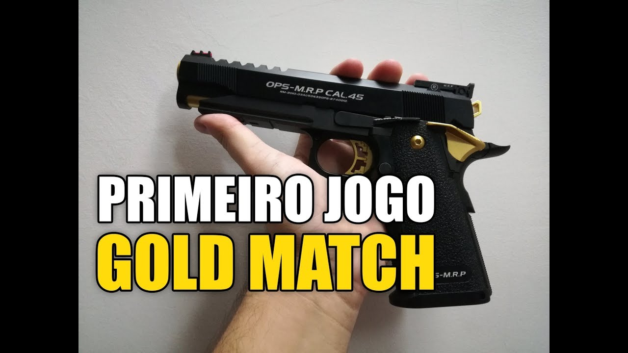 NOVA ARMA – Match d'Or Hi-capa (Airsoft Portugal # 20)