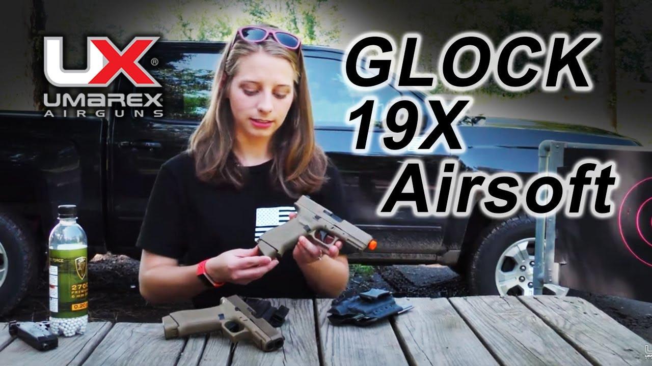 Examen du pistolet à air comprimé GLOCK 19X CO2 Airsoft: Umarex Airguns