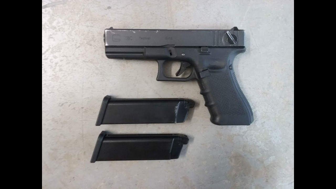 [Airsoft] Pistolet WE Glock 18c Gen 4 GBB (ANCIEN)