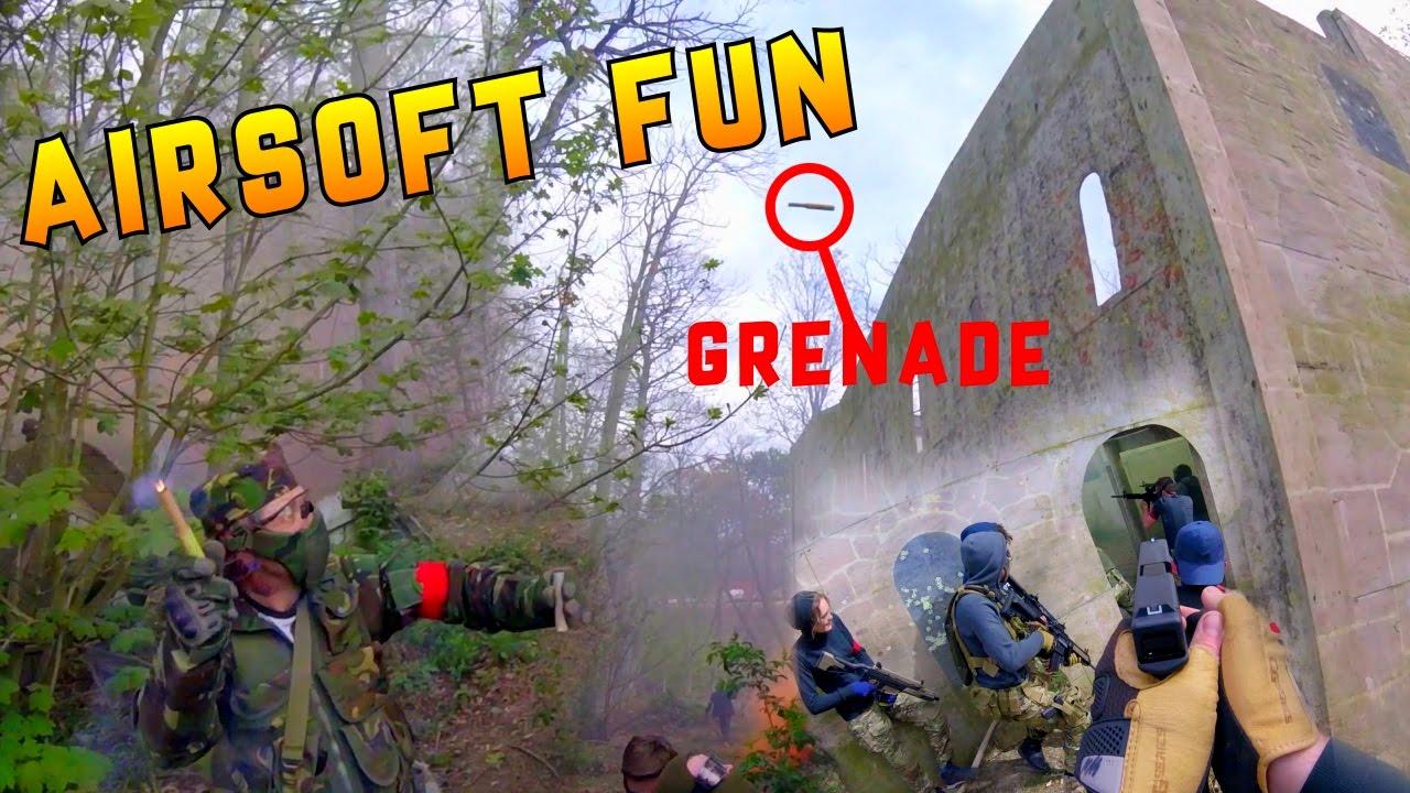 GRENADE FAIL – Airsoft