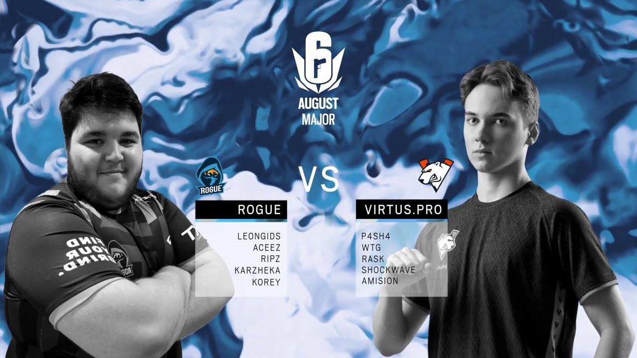 Rogue vs Virtus.Pro // European Six août 2020 Major – Demi-finale 1