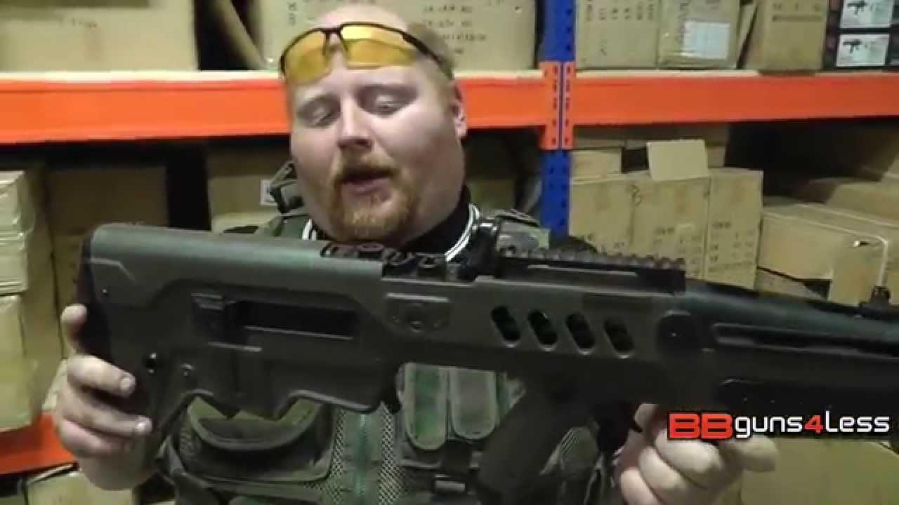 Revue et test de tir du pistolet S&T Tavor T21 Airsoft – BBGuns4less