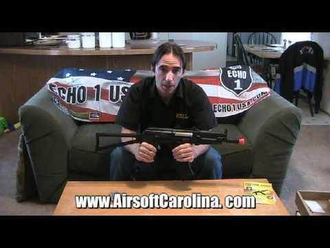 Airsoft Review Echo 1 Vector Arms CPM AK-74u AEG