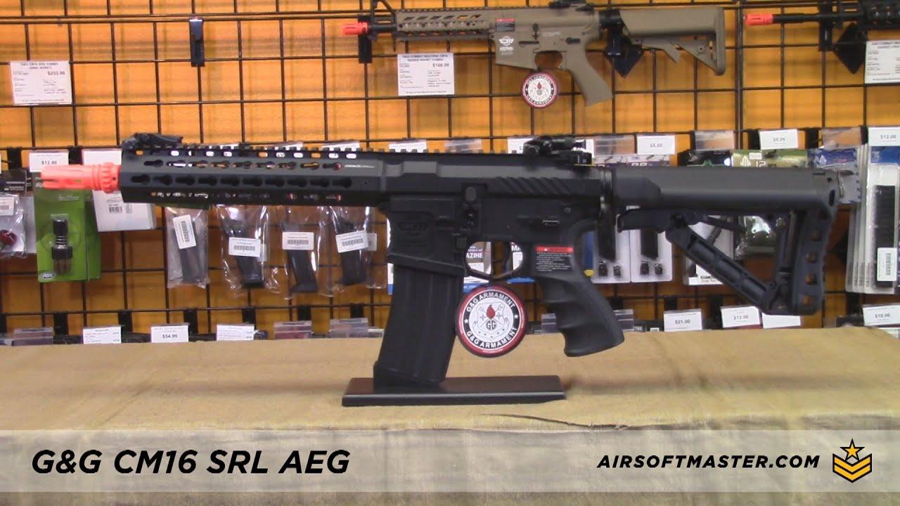 G&G Combat Machine CM16 SRL Airsoft Gun