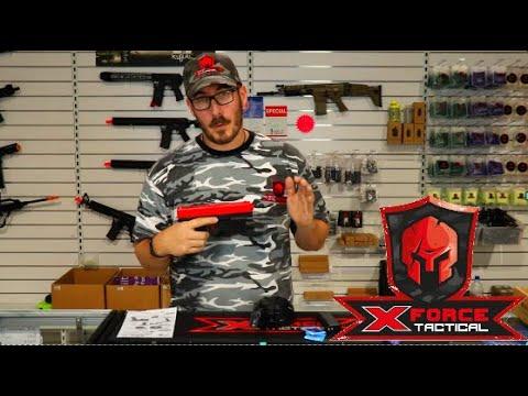 Jinming X-2 Pistol Unboxing et examen