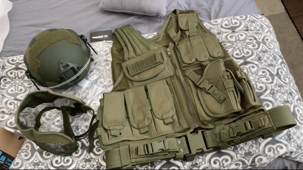 Examen: GZ XINXING S – 4XL Law Enforcement Tactical Airsoft Paintball Vest