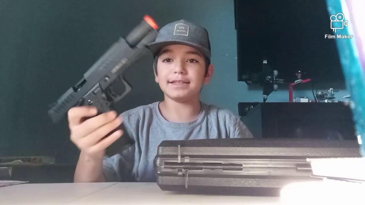 Examen du pistolet MYTH AIRSOFT