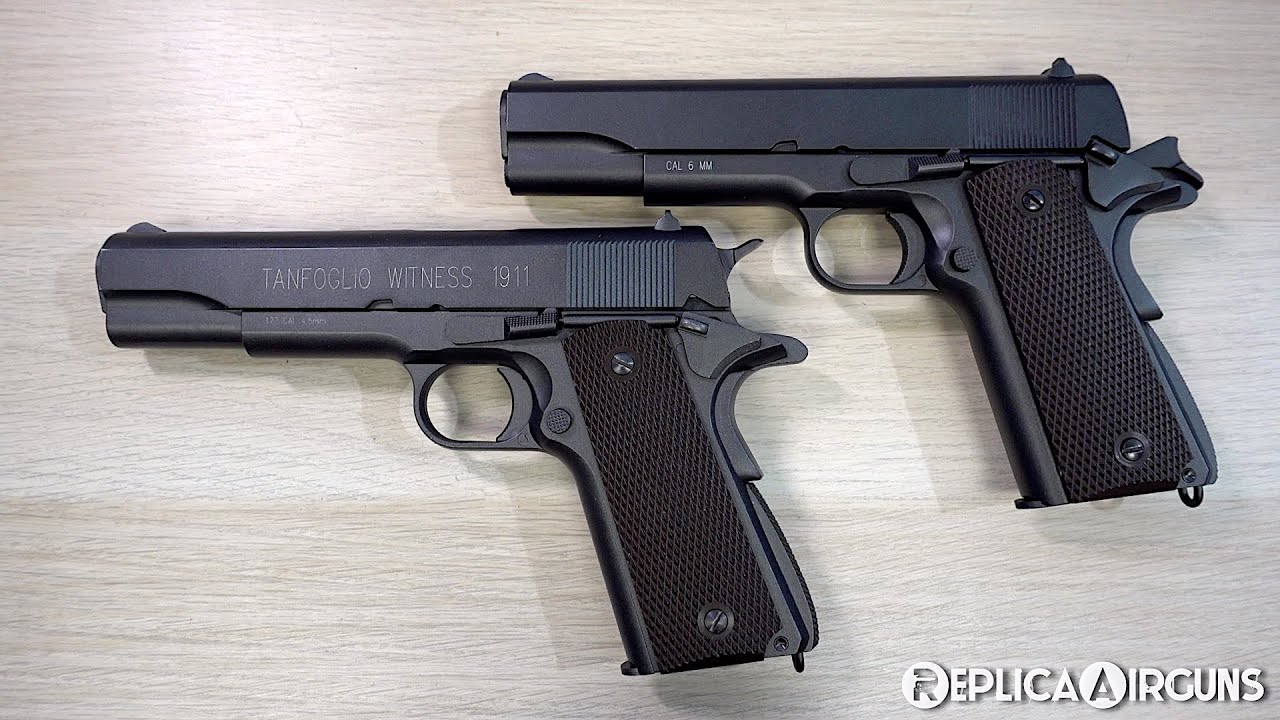 KWC M1911 CO2 Blowback Airsoft Pistol Top Review