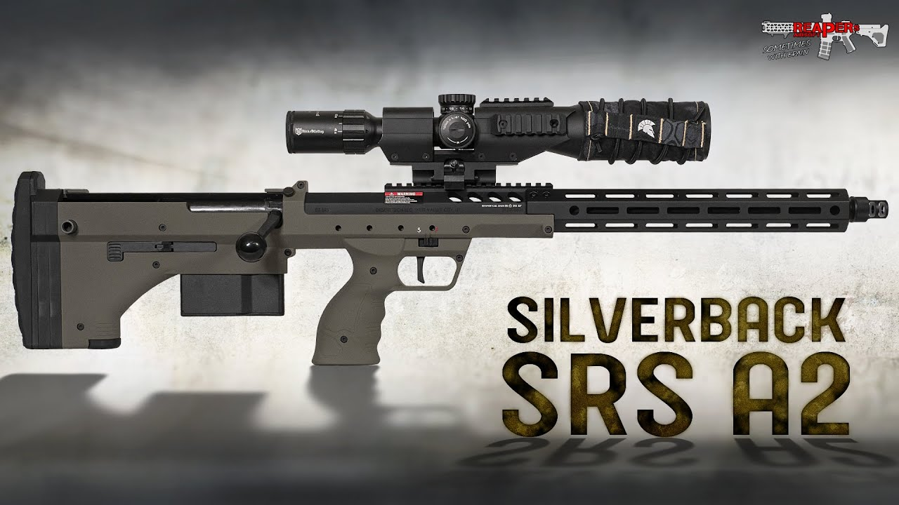 "[Review] Silverback SRS A2 – 22 ""M-LOK – pression de ressort 6 mm Sniper 2020 Airsoft / Softair (allemand, DE)"