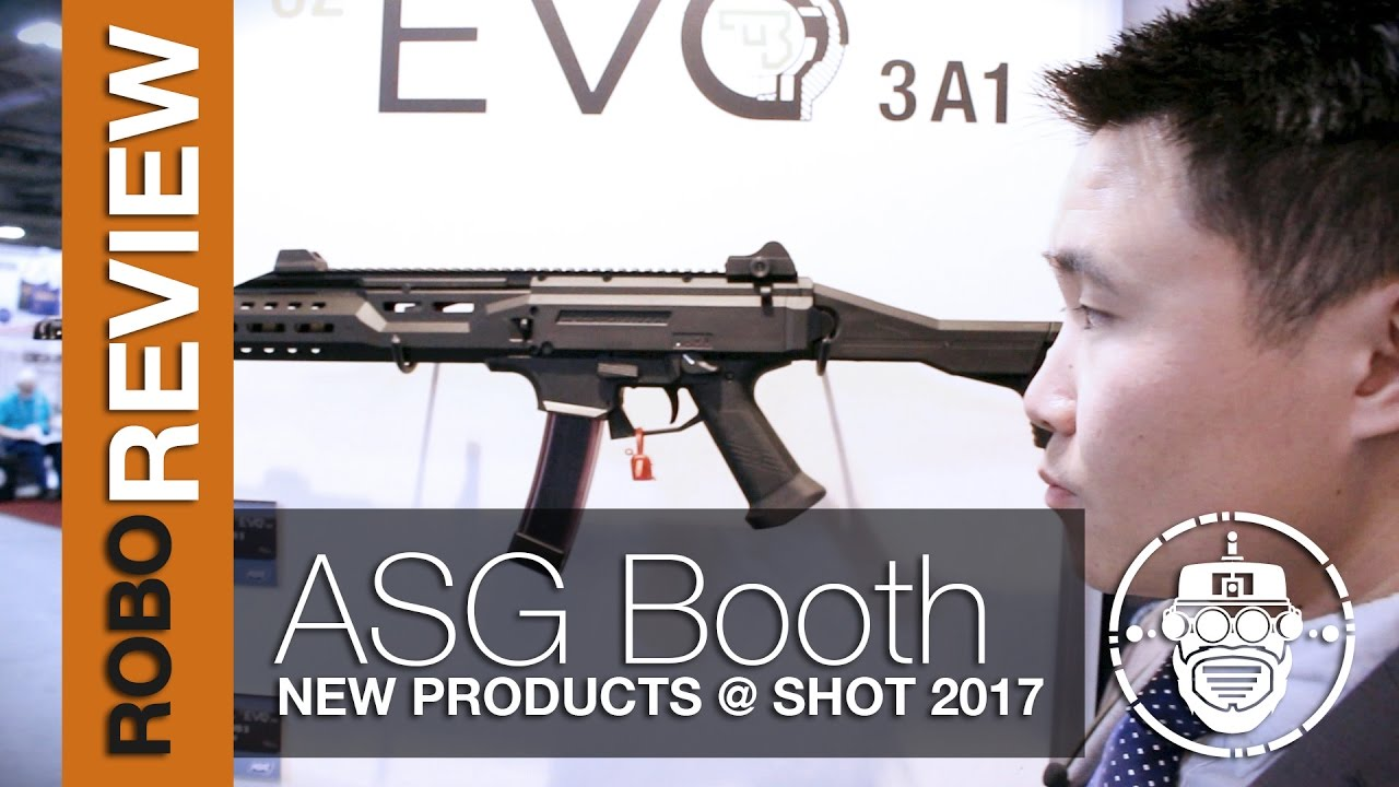 Robo-Airsoft: Robo Gear Review – SHOT Show 2017 – Nouveaux produits ASG pour 2017