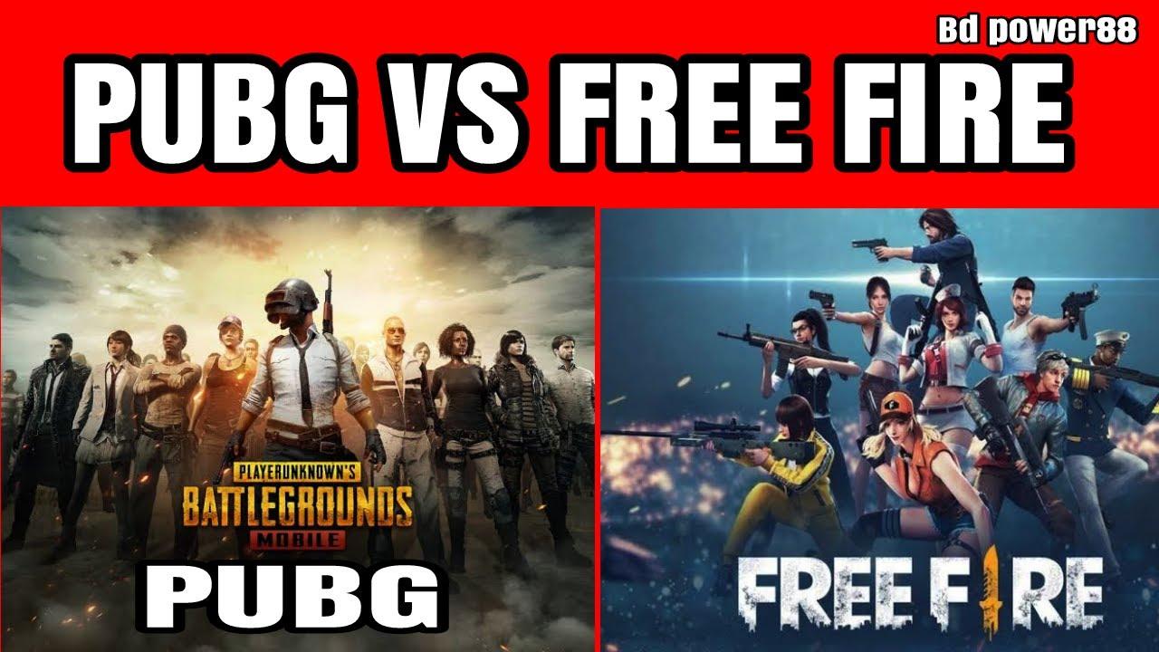 Pubg vs feu gratuit | jeu mobile | nouvelle vidéo | BD Power88