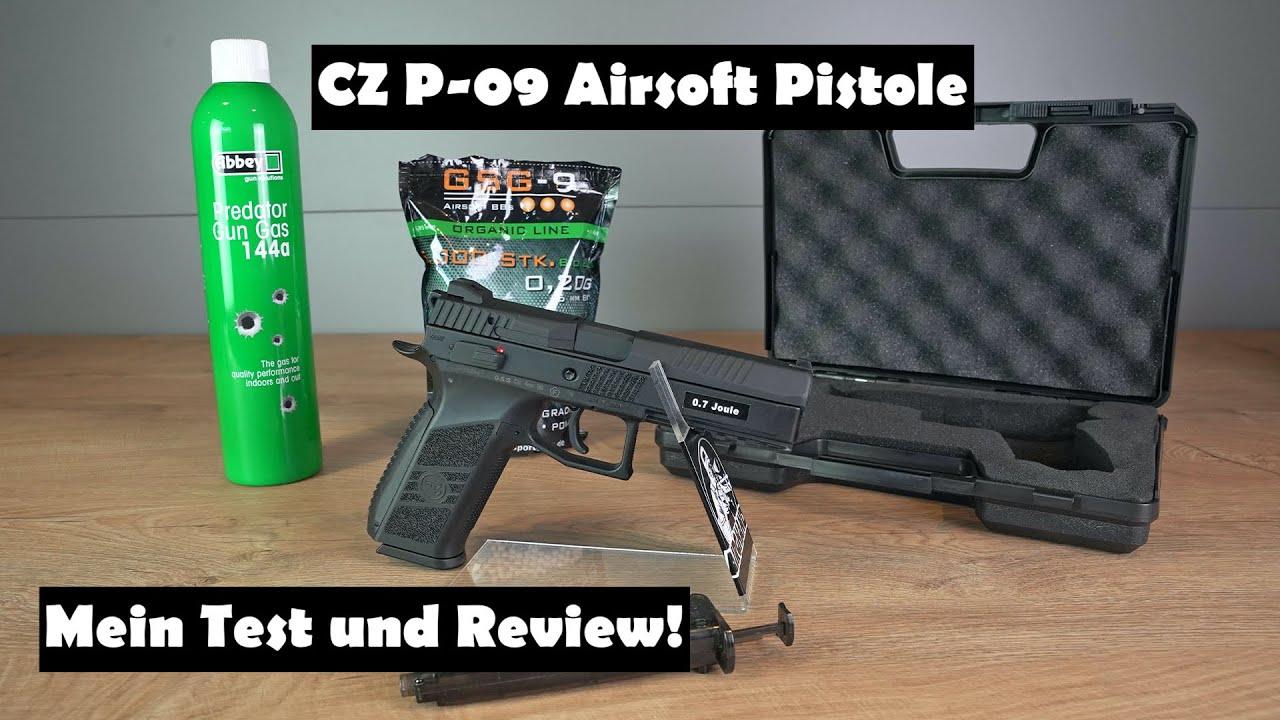 Pistolet CZ P-09 Airsoft – Mon test et mon avis