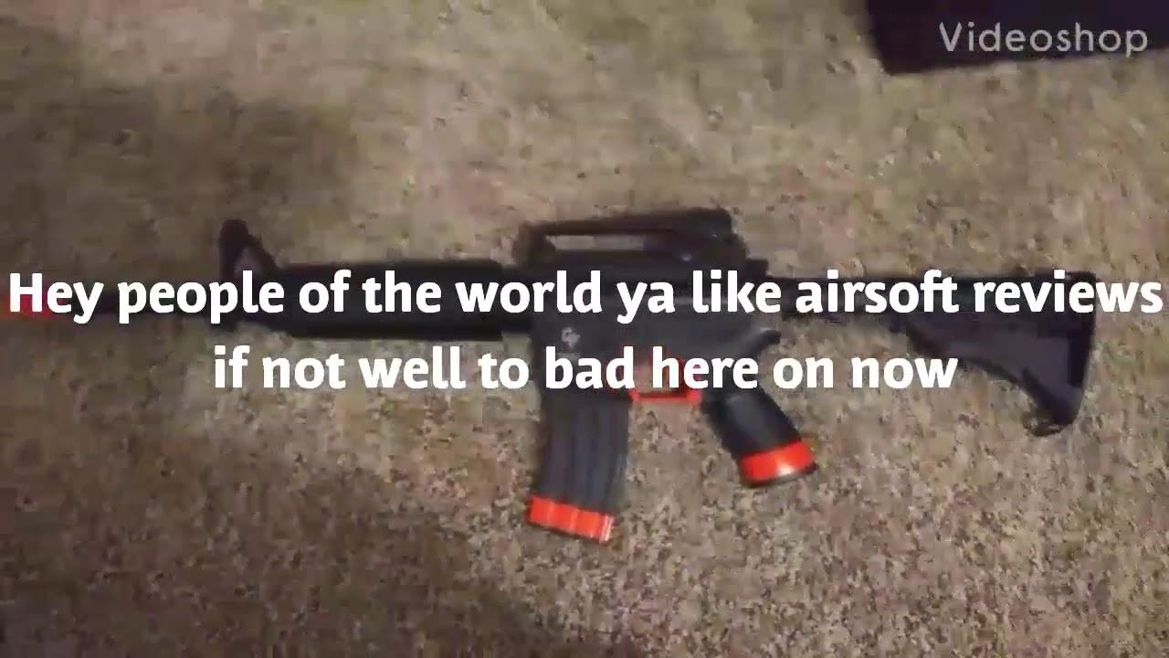 Mon premier avis sur le kit d'airsoft Defenders Strike