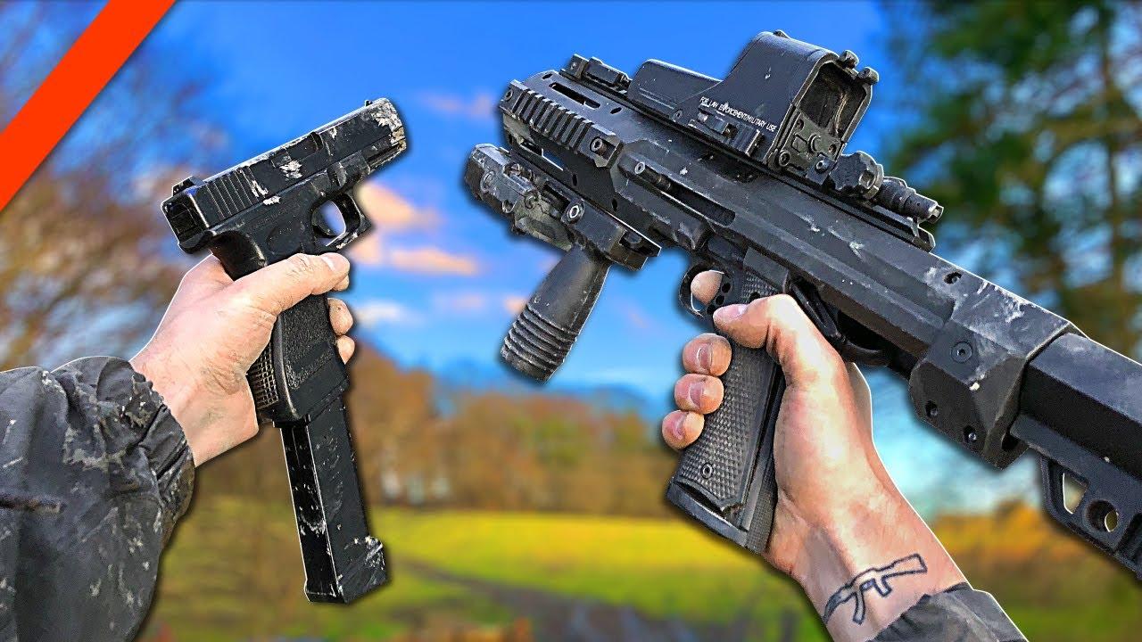 Airsoft War: GUN GAME 4.0 Jeu de tir à la première personne (FPS) dans la vraie vie | TrueMOBSTER