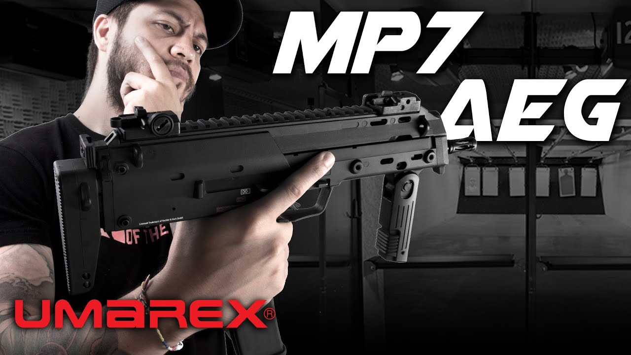 Umarex MP7 AEG, EVO Killer? – RedWolf Airsoft RWTV