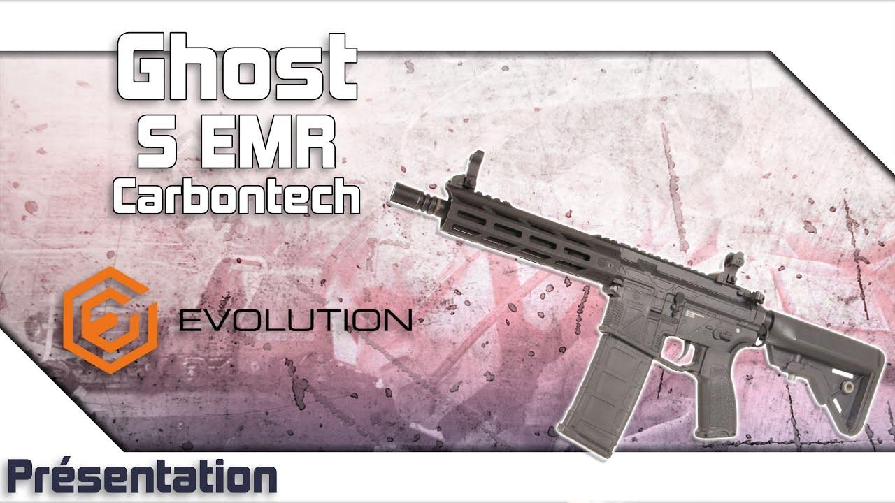 [Ghost S EMR Carbontech – Evolution Airsoft] Présentation | Review | Airsoft FR – EN subs