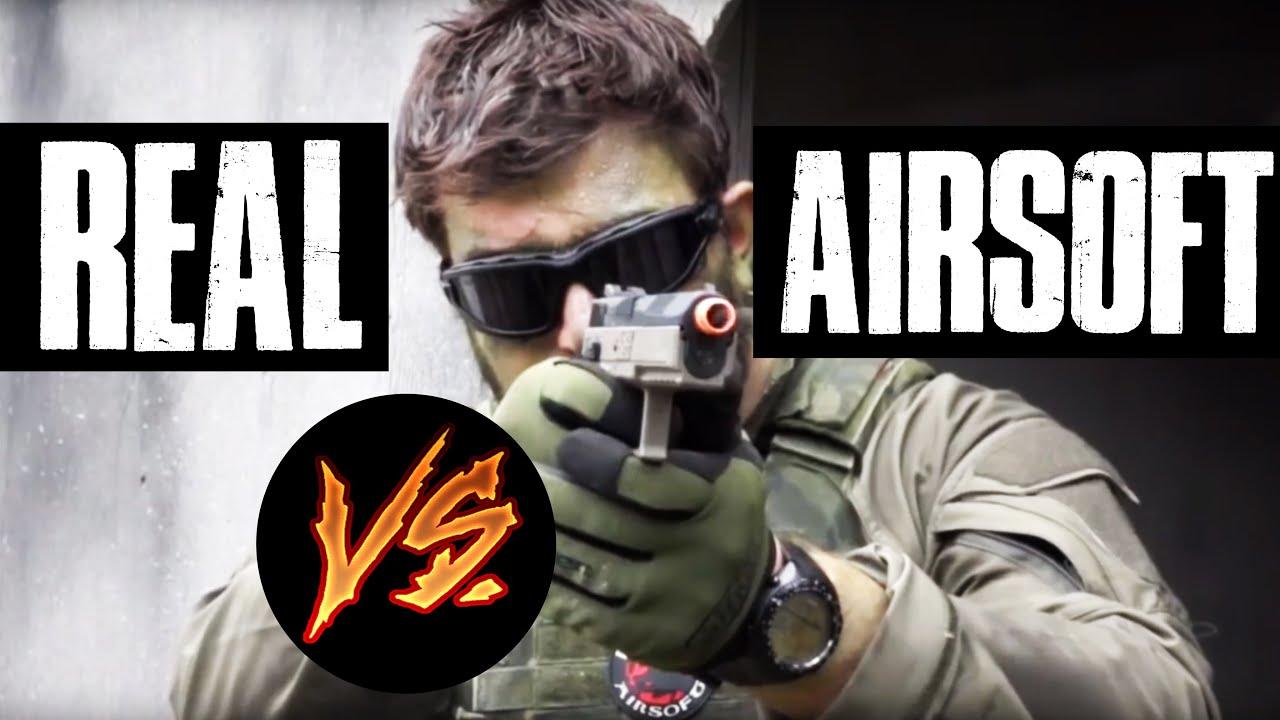REAL VS AIRSOFT   Pistolets CZ 75   Tireur d'élite des marais