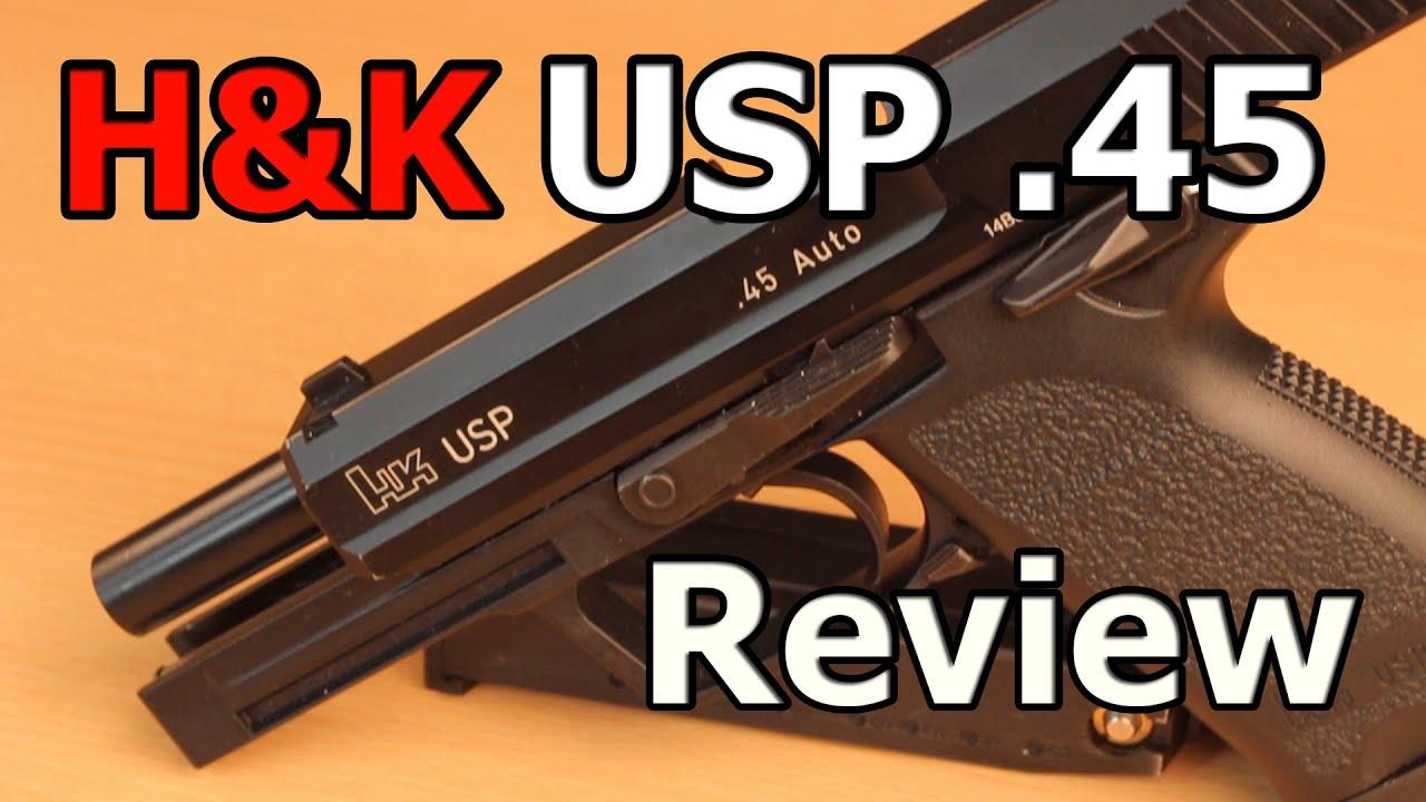 HK USP AIRSOFT REVIEW – Heckler & Koch KWA USP 45 GBB GSP Airsoft allemand / deutsch