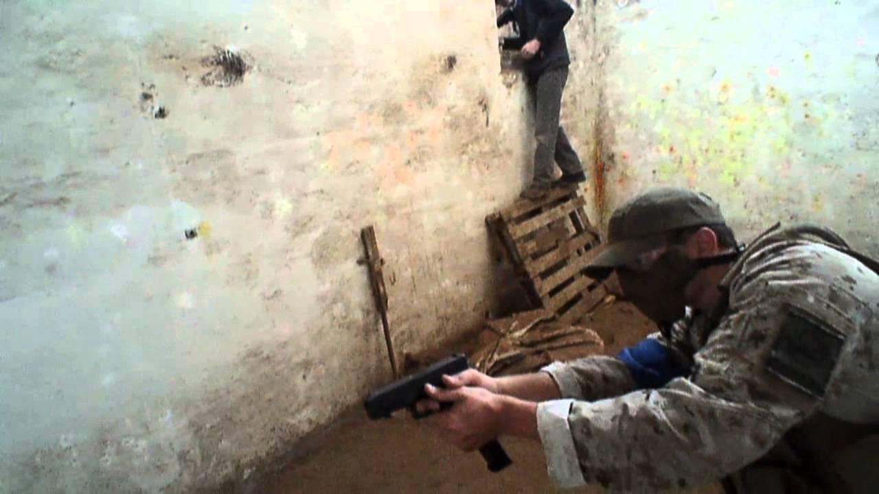 Slaughter House – jeu de tir à la première personne (jeu Airsoft / guerre, Cape Town, Afrique du Sud)