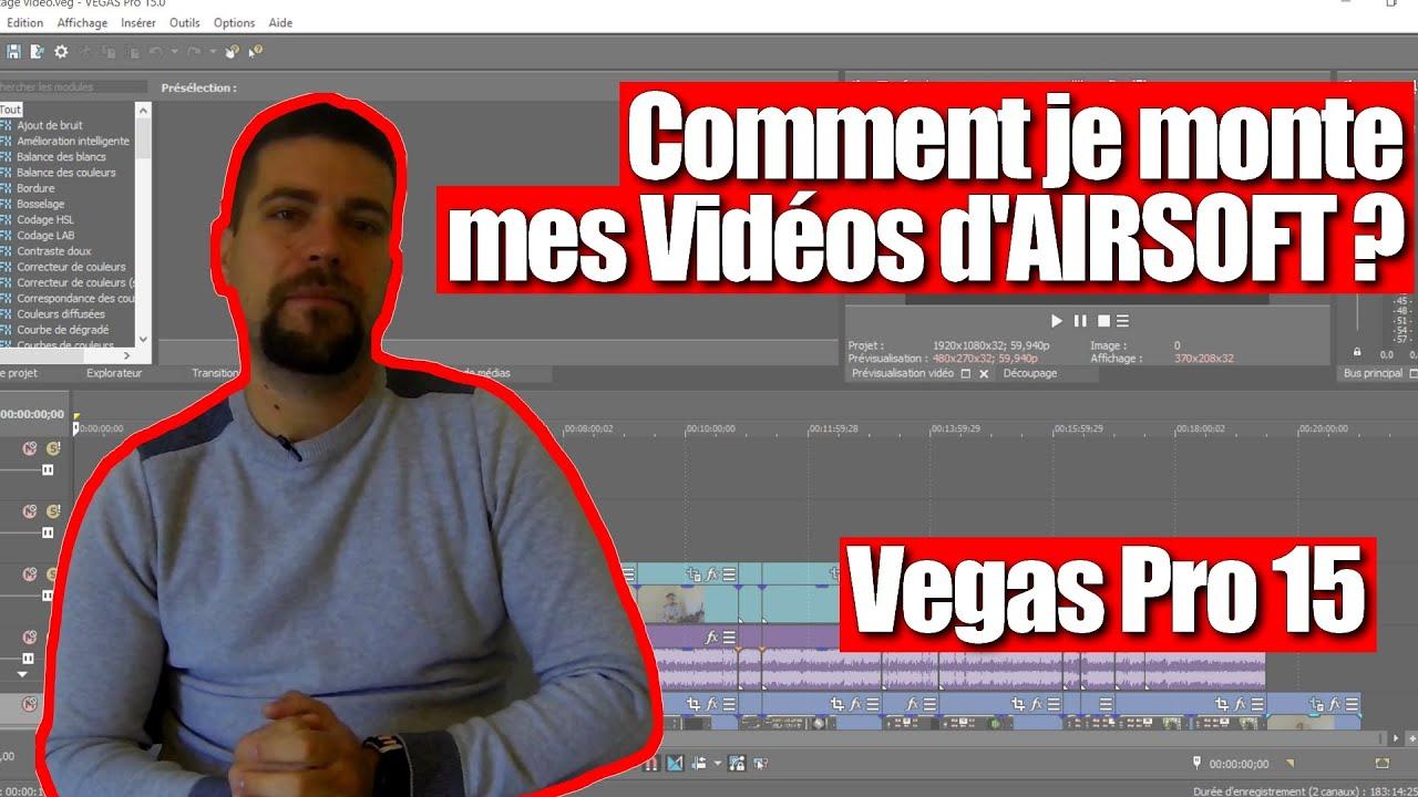 Comment un Airsofteur monte ses vidéos Youtube ?