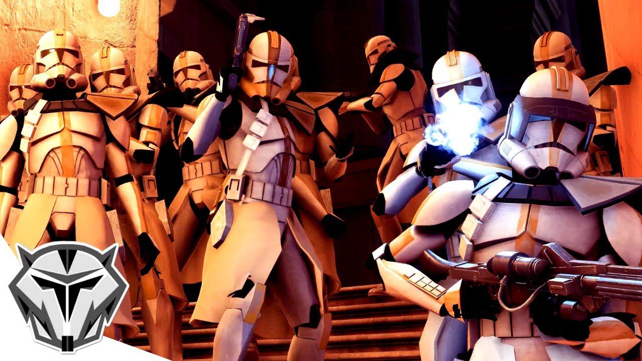S'amuser en tant que 327th Star Corps!