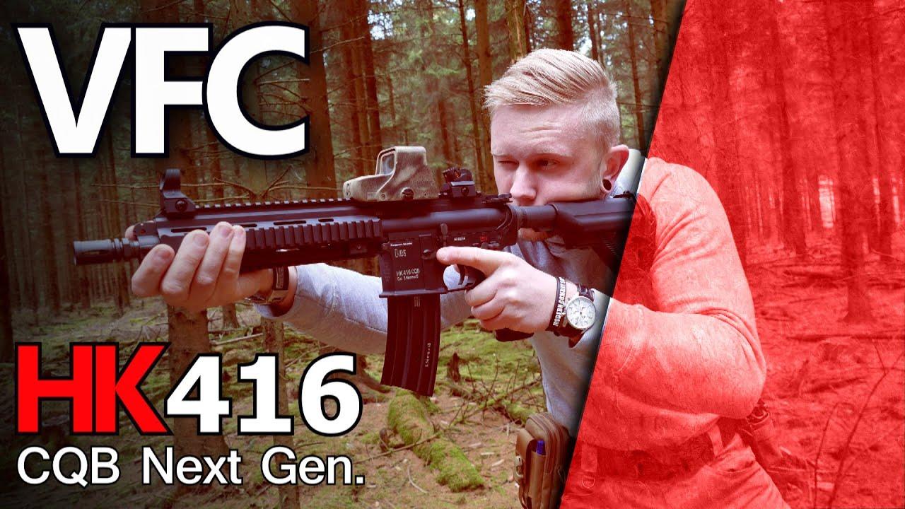 VFC UMAREX HK416 CQB Next Gen. Évaluer German GsP Airsoft