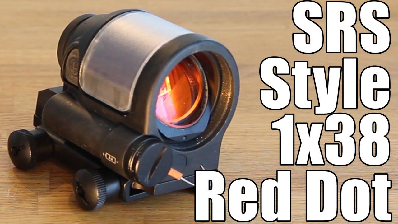 AIRSOFT | REVUE | TBC | Lunette de visée SRS Style 1×38 Red Dot Reflex (FRANÇAIS SUBS)