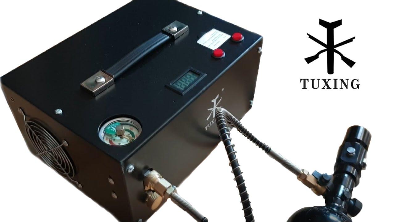 (Airsoft) Mon équipement HPA – Compresseur TUXING