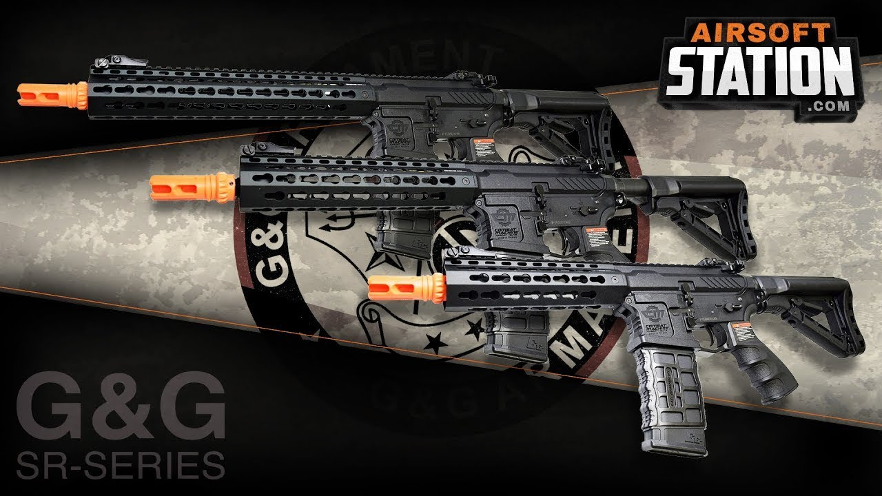 G&G CM16 SRS / SRL / SRXL AEG Series Airsoft Gun Review 🔥🔥🔥