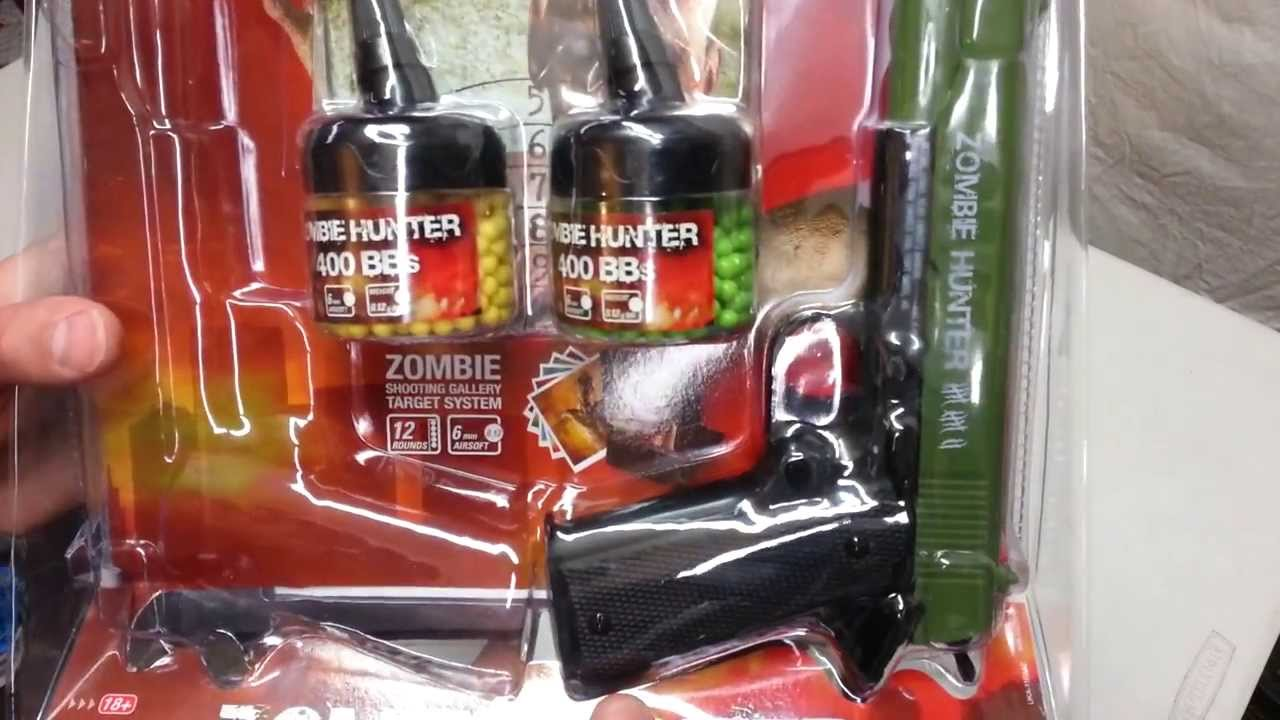 Examen du kit Zombie Hunter Airsoft Destroyer