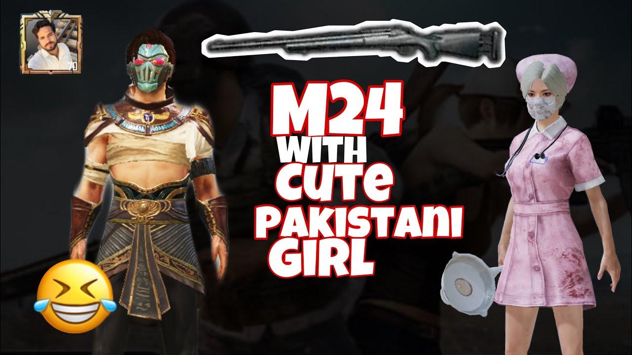 ShamsiBhai M24 Gameplay avec une fille pakistanaise les moments les plus drôles