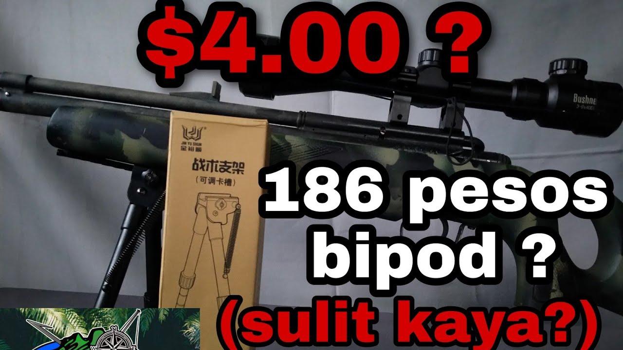 """Bipied """"Tactics bracket"""" – Bipied le moins cher pour carabines à air comprimé et airsoft (REVUE + TUTORIEL + MISE À JOUR DU CANAL)"""