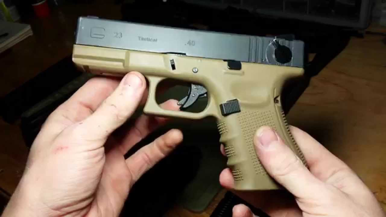 Collection Airsoft GBB Glock!