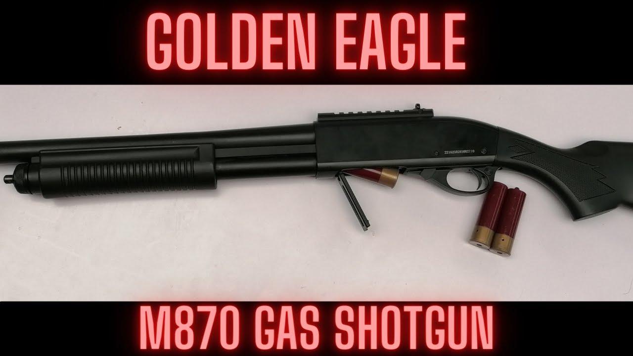 Fusil à essence Golden Eagle M870 (Avis)