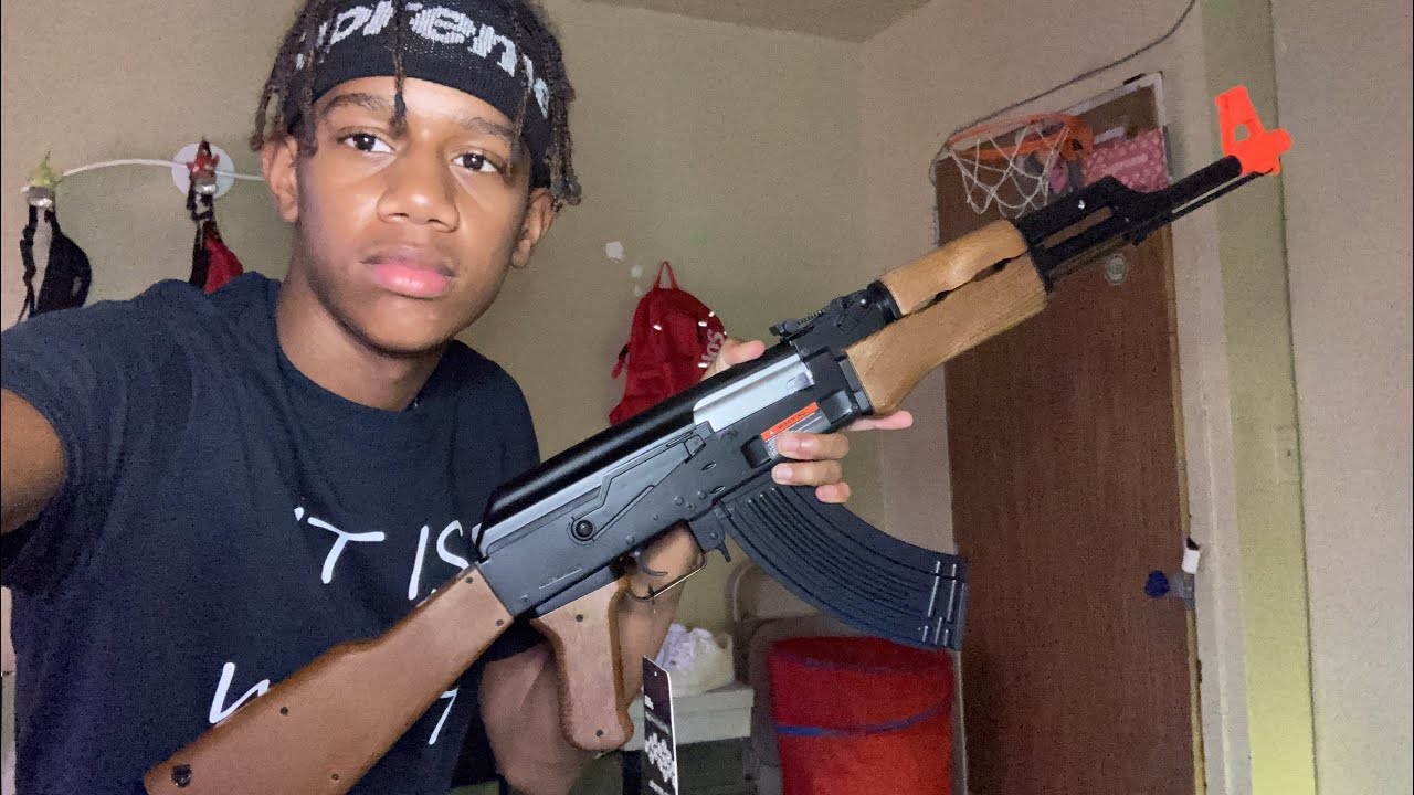 EXAMEN DU PISTOLET AK47 BB‼ ️