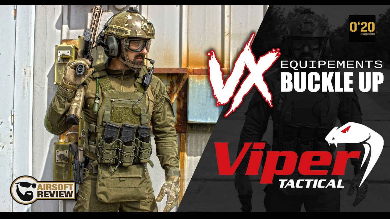 [ENG SUB] GEAR GAMME VX BUCKLE UP / VIPER TACTICAL / 020 MAGAZINE # AIRSOFT REVIEW