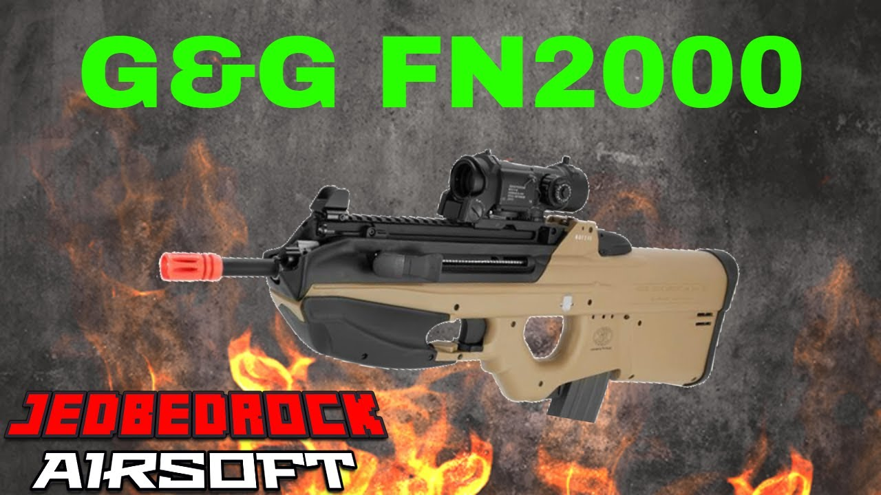 G&G FN2000 Airsoft Review || JedBedrock Airsoft