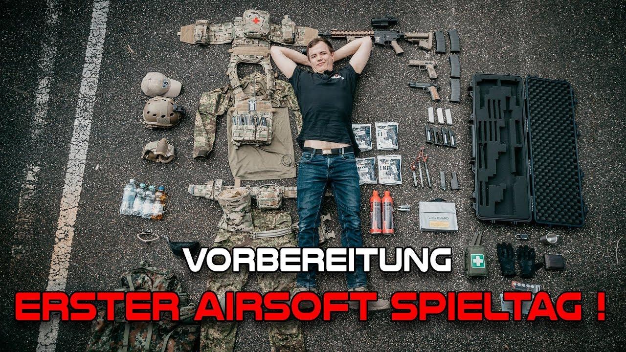 PREMIER JOUR DE JEU Airsoft | De quoi ai-je besoin? Guide du débutant | Sniper-as.de