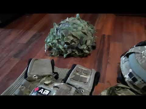 """mon chargement de Snipers de l'armée britannique """"airsoft"""""""