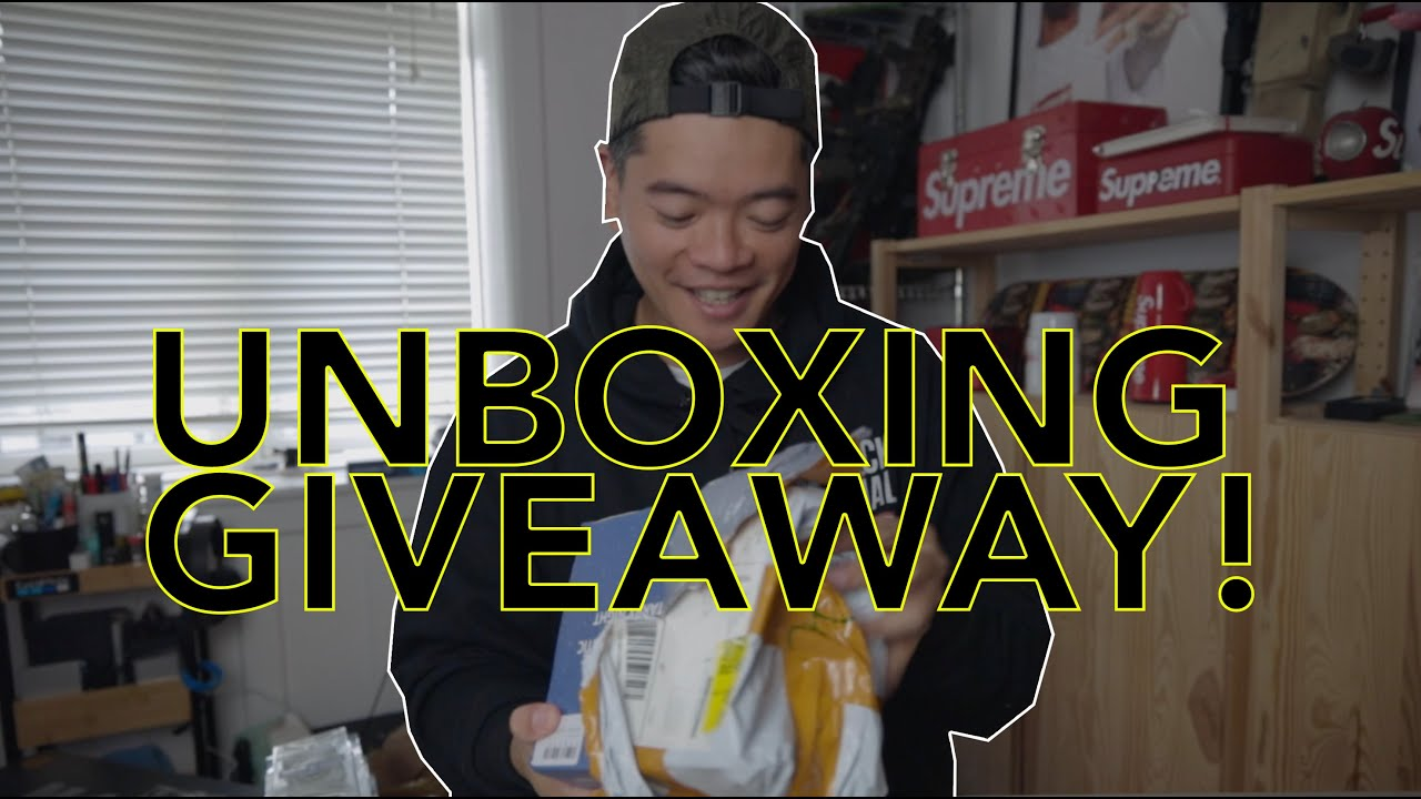 UNBOXING SUPREME AIRSOFT & GIVEAWAY!